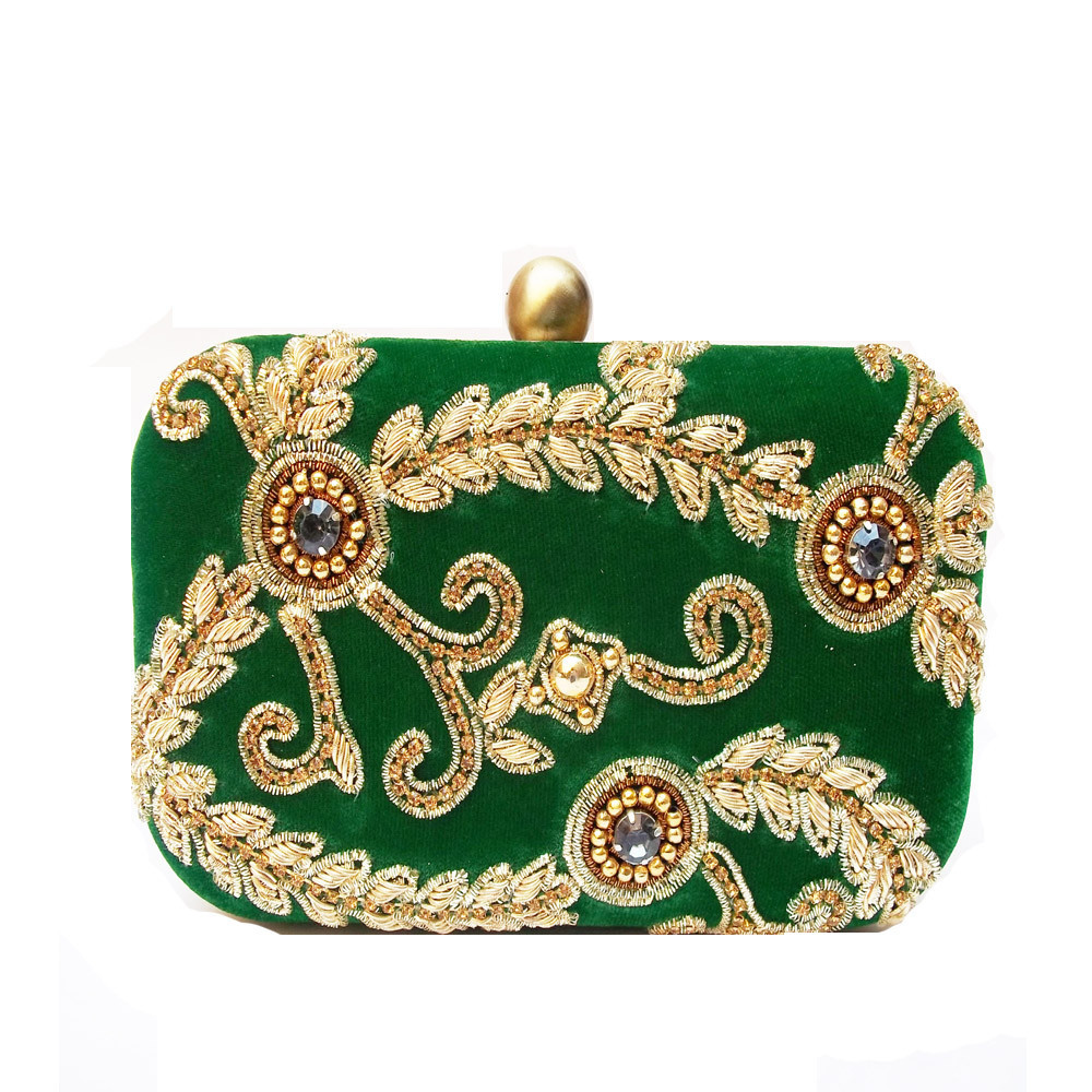 dawka embroidery clutch big