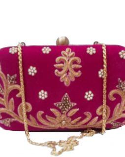 AHS crafts Dawka Flower Clutch for women